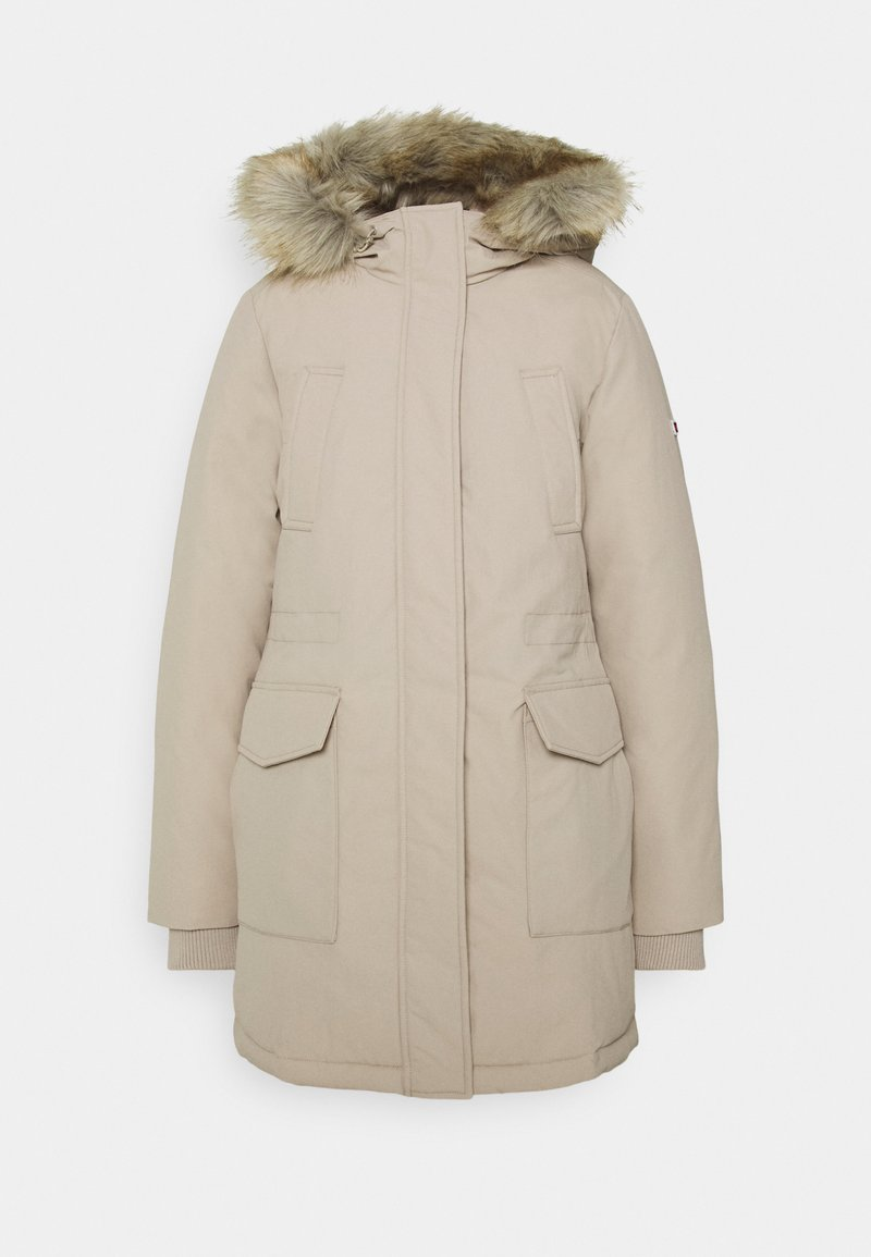 Tommy Jeans - TECHNICAL  - Down coat - beige