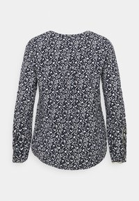 MY TRUE ME TOM TAILOR - Blouse - navy flowers and dots - 1