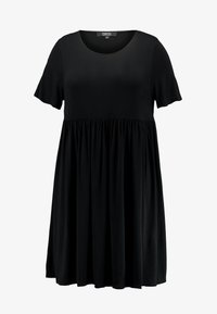 Simply Be - ANGLE SLEEVE SMOCK DRESS - Denní šaty - black - 5
