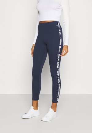 SKINNY TAPE  - Leggings - twilight navy