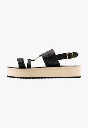 MIDVILLE  - Platform sandals - black