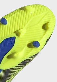 adidas Performance - NEMEZIZ.3 FG LACELESS FUSSBALLSCHUH - Moulded stud football boots - black - 8