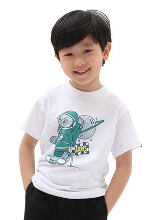 BY SK8 CADET SS KIDS - T-shirt print - white