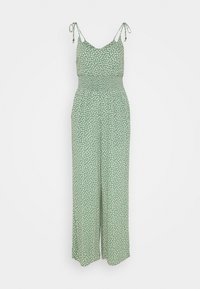 American Eagle - DOUBLE TIE CINCHED - Jumpsuit - green - 0