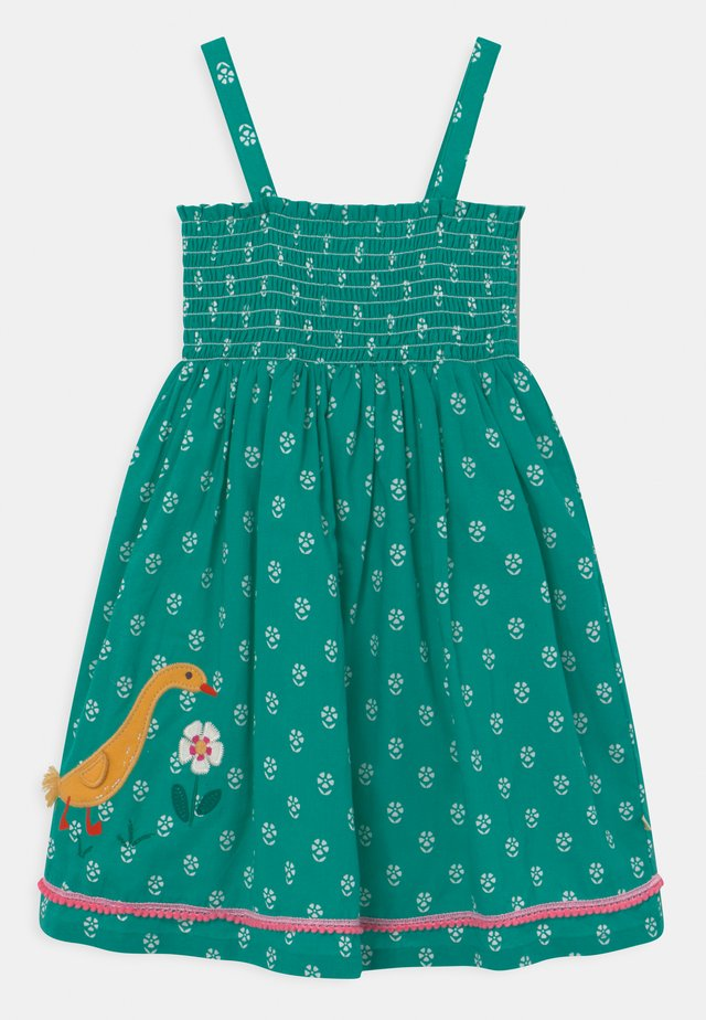 CORA DUCKS - Korte jurk - green