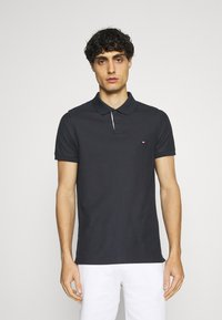 Tommy Hilfiger - CONTRAST PLACKET SLIM  - Polo shirt - desert sky - 0