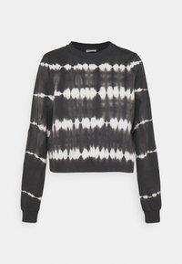 Noisy May - NMJOAN TIE DYE - Sweatshirt - black - 3