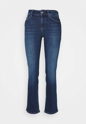 ONLMALOU LIFE - Jeans Slim Fit - dark blue denim