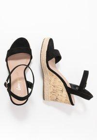 New Look - PERTH - Sandály na vysokém podpatku - black - 3