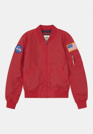 NASA - Bomber Jacket - speed red