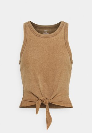 CROPPED TIE FRONT TANK - Top - cedar expedition