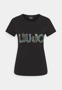 LIU JO - LOGO - Print T-shirt - nero - 5