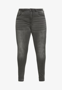 ONLY Carmakoma - CARAUGUSTA LIFE - Jeans Skinny Fit - dark grey denim - 3