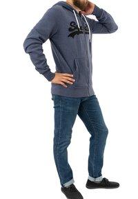 Superdry - Zip-up sweatshirt - bleu - 2