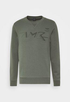 LOGO CREW - Sweater - racing green