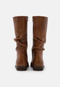 Steven New York - LYANA - Vysoká obuv - cognac - 3