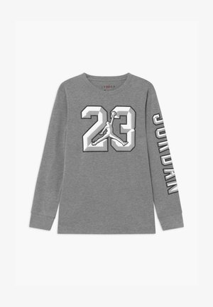 23 CHISELED - Long sleeved top - carbon heather