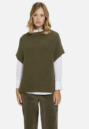 SLIPOVER - Basic T-shirt - military green