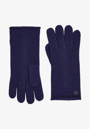 Gloves - dark blue