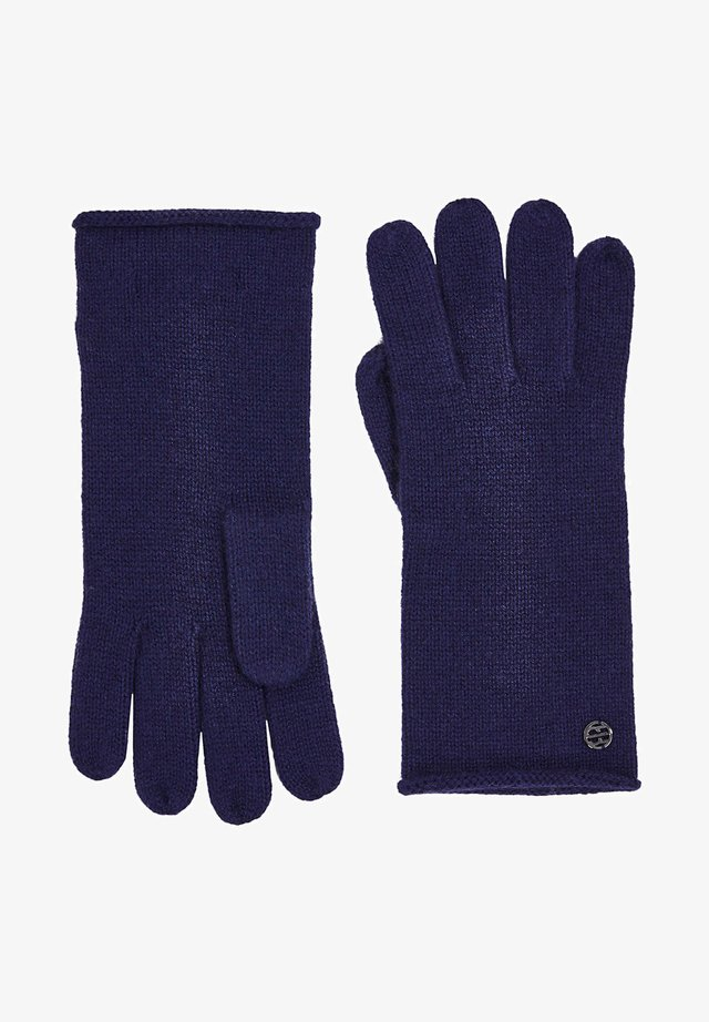 Gloves - dark blue