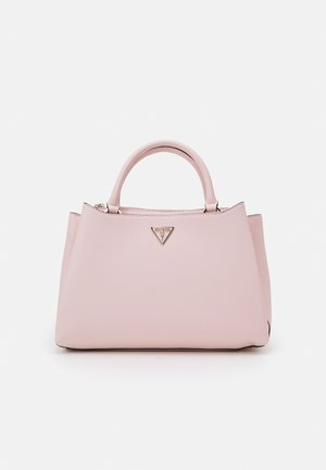 AMBROSE TURNLOCK SATCHEL SET - Handbag - blush