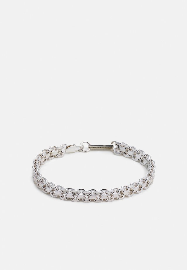 CLUSTER CHAIN BRACELET - Armband - silver-coloured