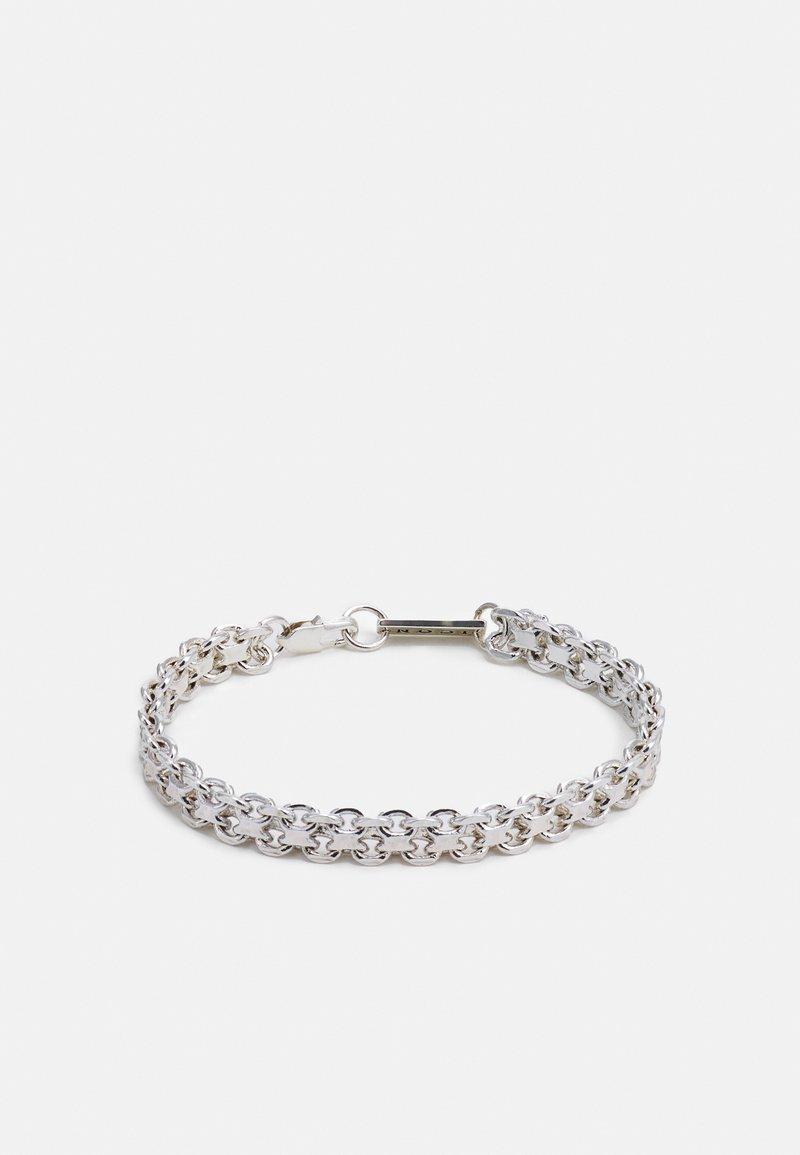 Icon Brand - CLUSTER CHAIN BRACELET - Bracelet - silver-coloured