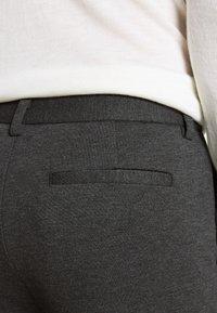 Bruuns Bazaar - POLITAN ZIP PANTS - Trousers - antracite - 3