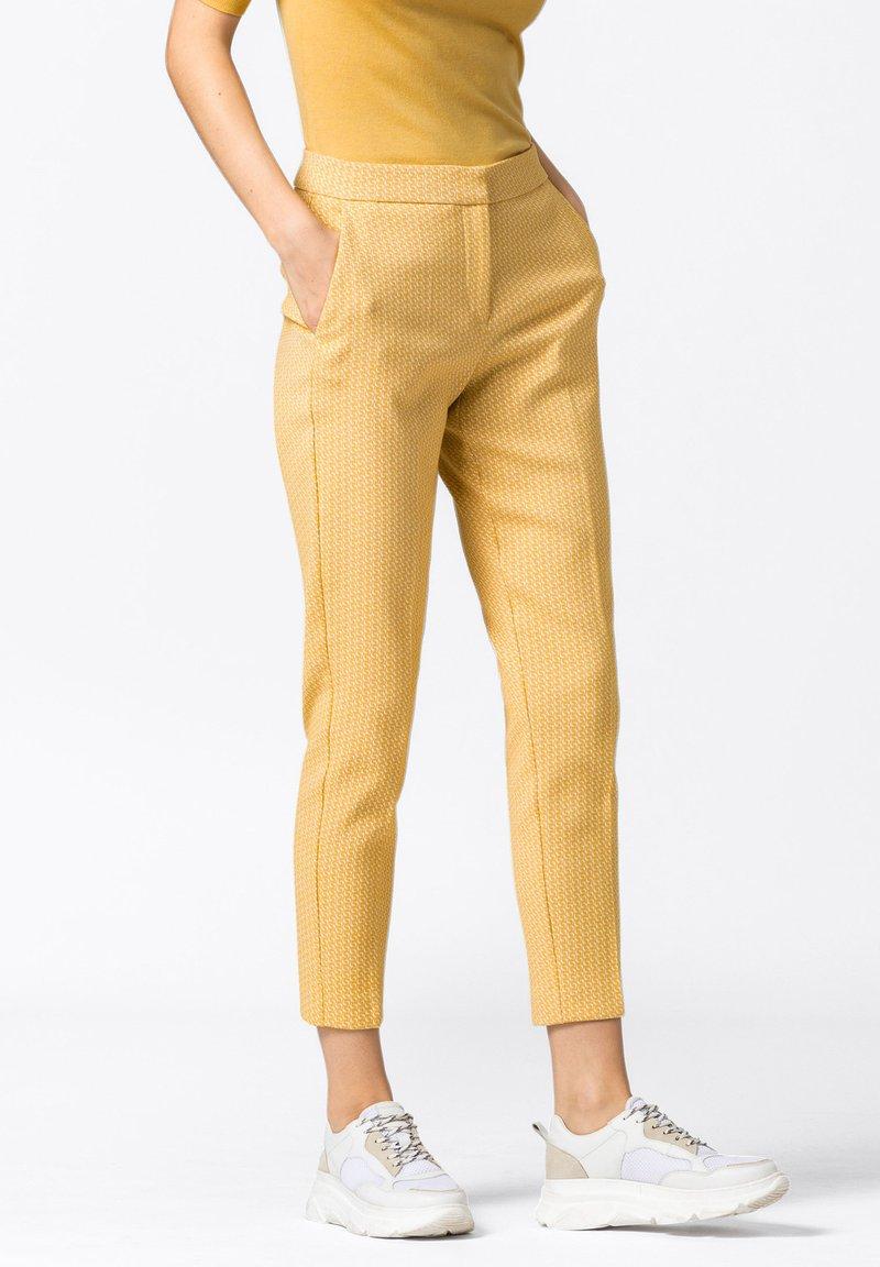 HALLHUBER - Trousers - safran