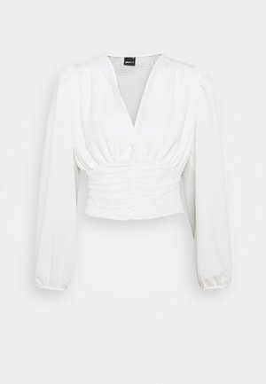 VIC BLOUSE - Blus - offwhite