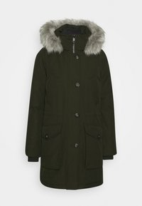 Tommy Hilfiger - GLOBAL STRIPE PADDED - Winter coat - camo green - 0