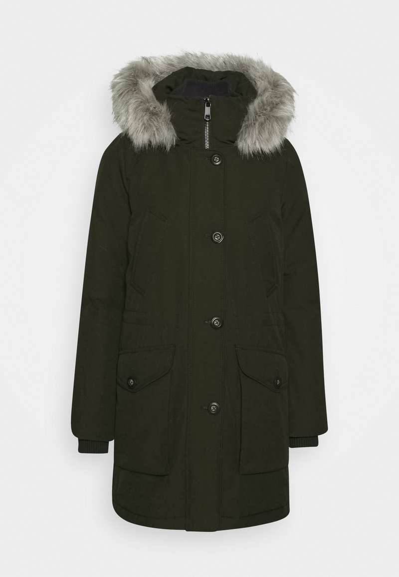 Tommy Hilfiger - GLOBAL STRIPE PADDED - Winter coat - camo green