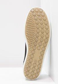 ECCO - SOFT  - Sneakersy niskie - black/powder - 5