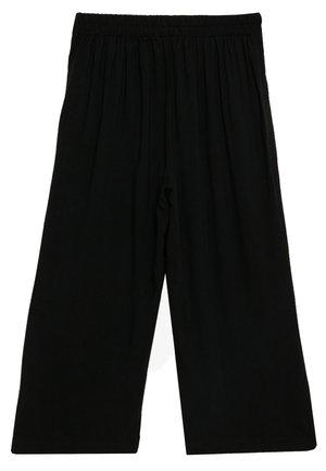 VMSIMPLY EASY CULOTTE PANT - Stoffhose - black
