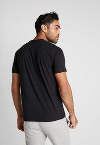 Kappa - CASPAR - T-shirt con stampa - caviar - 2