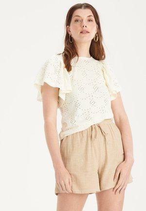 EMBRO FLY TEE - Print T-shirt - white