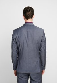 Selected Homme - SLHSLIM MYLOBILL LT SUIT - Kostym - light blue - 3