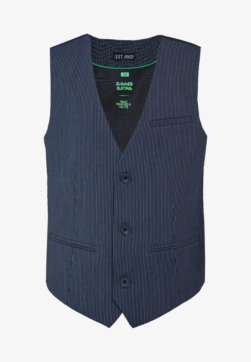 WE Fashion - Gilet elegante - blue
