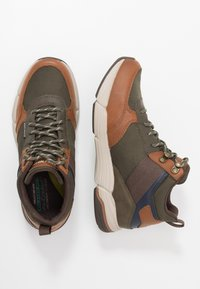 Skechers - METCO BELTOP - Sneaker high - brown/olive - 1