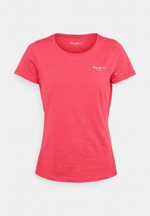BELLROSE - T-shirt basic - dark chicle