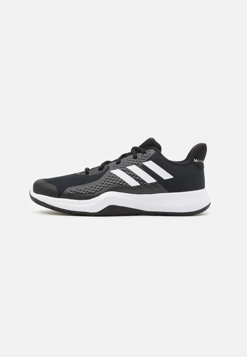 adidas Performance - FITBOUNCE VERSATILITY BOUNCE TRAINING SHOES - Zapatillas de entrenamiento - core black/footwear white/grey six