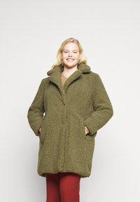 Noisy May Curve - NMGABI JACKET - Classic coat - kalamata - 0