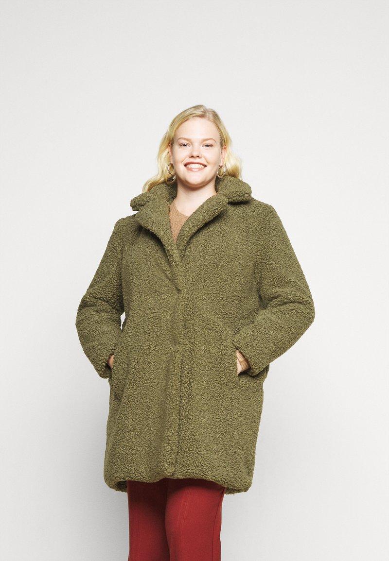 Noisy May Curve - NMGABI JACKET - Classic coat - kalamata
