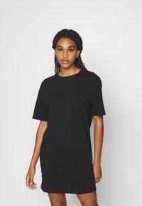Even&Odd - 2 PACK - Jerseykleid - black/light blue - 3