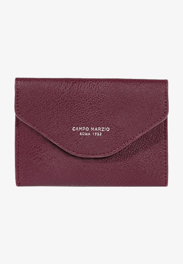 Passport holder - vino rosso
