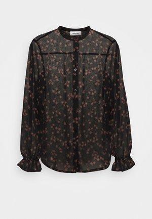 ERICA PRINT - Button-down blouse - black