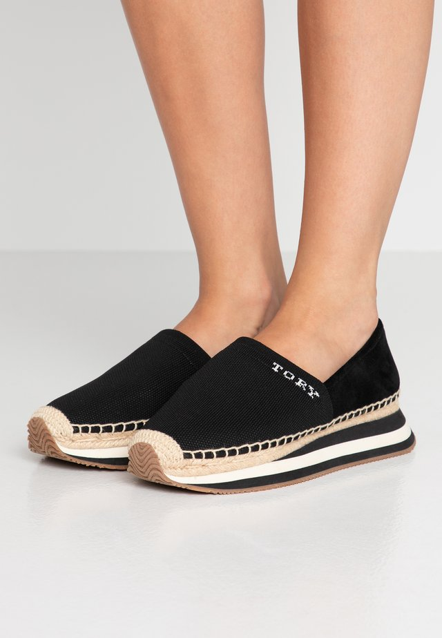 DAISY TRAINER - Espadrilles - perfect black