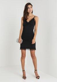 Rosemunde - STRAP DRESS - Cocktail dress / Party dress - black - 1
