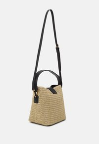 Forever New - IMOGEN BUCKET BAG - Sac à main - straw/black - 1