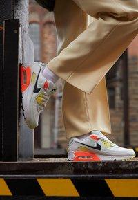 Nike Sportswear - AIR MAX 90 - Trainers - summit white/dark smoke grey/barely green - 2